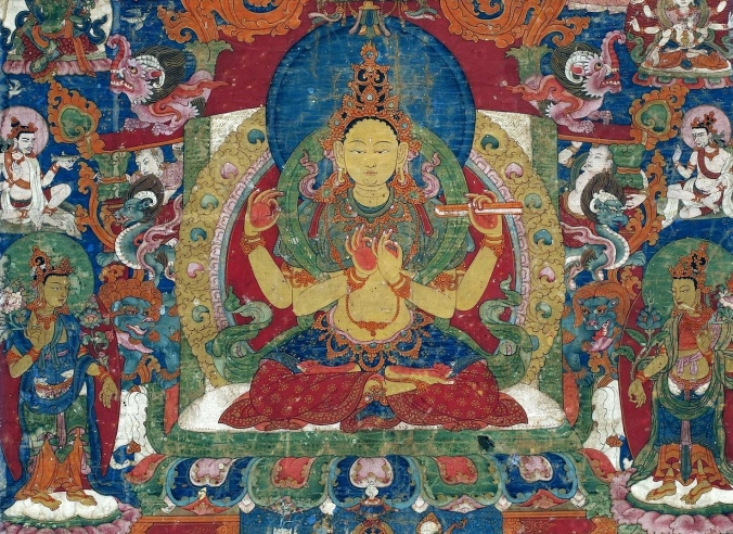 nepal_thangka_with_prajnaparamita